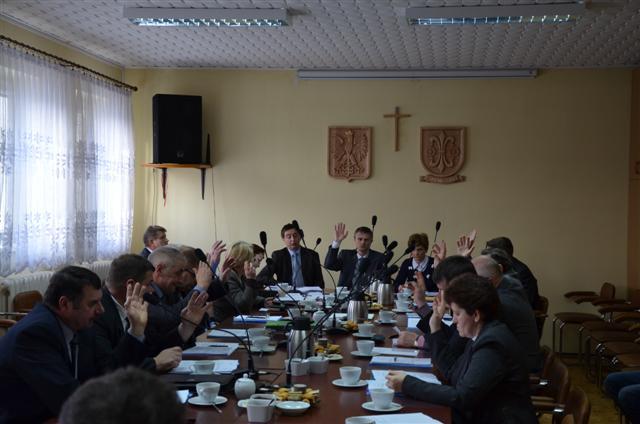 Pierwsza sesja Rady Gminy Wierzchlas kadencji 2014 – 2018